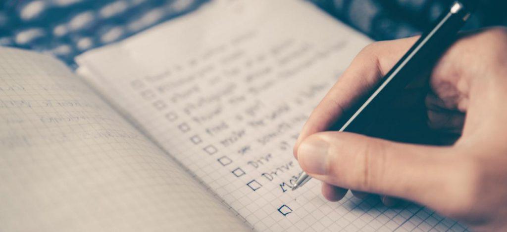 Checkliste für Umzug erstellen und alles im Blick haben