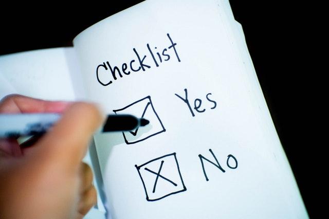 Nutzen Sie eine Umzugs-Checkliste für eine bessere Planung